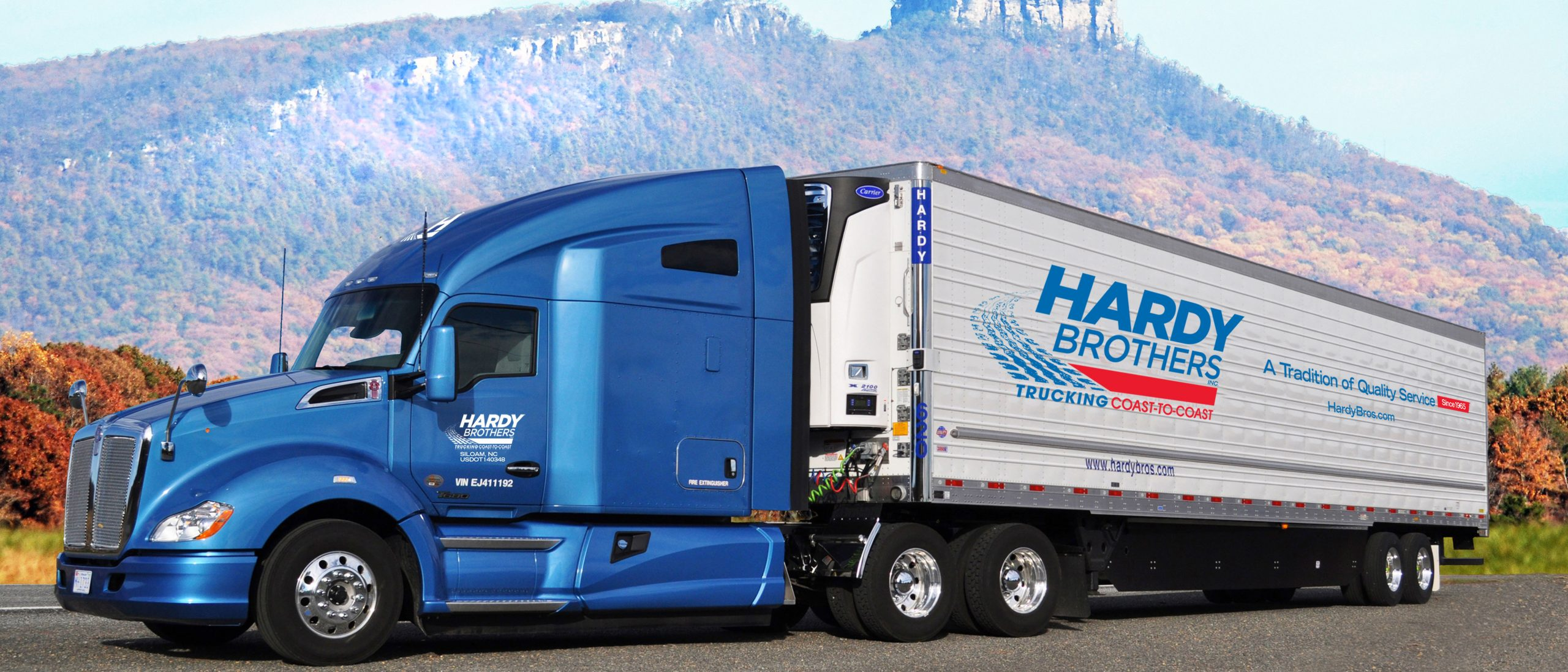 Hardy Brothers Truck